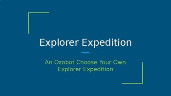 Ozobot Explorers Map