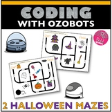 Halloween Coding Ozobot Maze