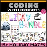 ozobot™ Activities HOLIDAY Bundle