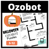 Ozobot Halloween Puzzles