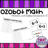 Ozobot Math - Addition and Subtraction Facts to 10