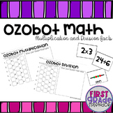 Ozobot Math - Multiplication and Divsion