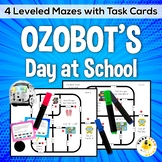 Ozobot Maze Activities - Ozobot's Day at School