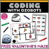 Ozobot Maze Activity - Valentine's