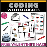 Ozobot Maze Activity Valentine