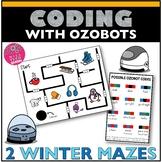 Ozobot Maze Activity - Winter Maze