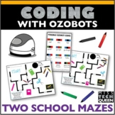 Ozobot Maze Activity - School Supplies