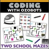 Ozobot Maze Activity School Supplies