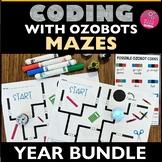 Ozobot Maze Activity Sheet BUNDLE - STEM