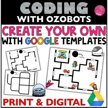 Ozobot Create Your OWN Maze | Google Activities by Miss Tech