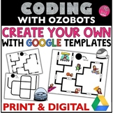 Ozobot Create Your OWN Maze | Google Activities