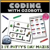 Ozobot Activity St Patrick's Day Maze