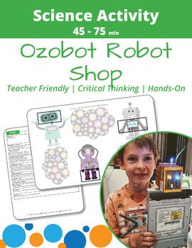Ozobot Programming: Robot Shop