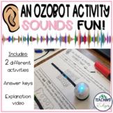 Ozobot Sound Waves Activity