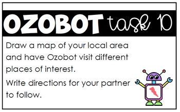 Ozobot Task Cards
