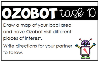 Ozobot Task Cards