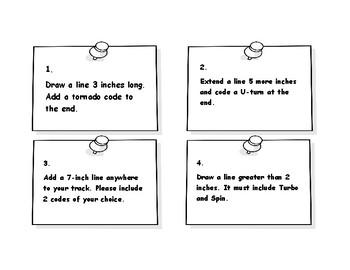 Ozobot Task Cards - Measurement