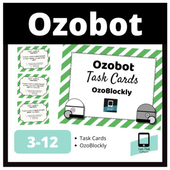 Ozobot Task Cards: OzoBlockly