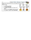 Ozobot Winter Olympics Coding Activity