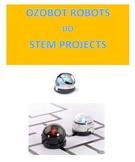 Ozobot robots do STEM Problems