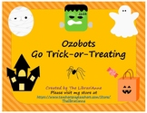 Ozobots Go Trick-or-Treating