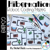 Hibernating Animals Coding Mazes| Perfect for Ozobots
