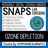 Ozone Depletion Lab Stations Activity - Printable & Digital