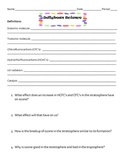 Ozone Layer with Jelly Beans Worksheet!