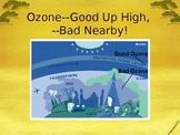 PowerPoint:  Ozone & Ozone Depletion