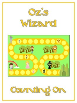 Oz's Wizard Math Folder Game - Common Core - Counting On F