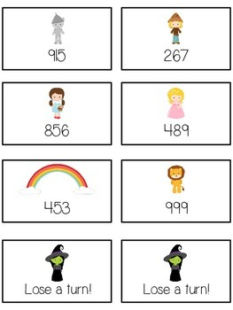 Oz's Wizard Math Folder Game - Common Core - Expanded Form