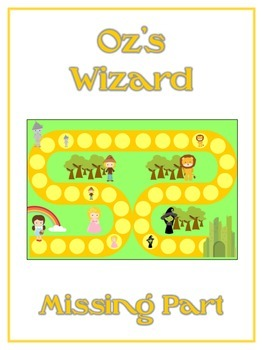 Oz's Wizard Math Folder Game - Common Core - Finding the Missing Part