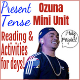 Ozuna Mini Unit - Music March Madness Reading and Activities for Spanish Class