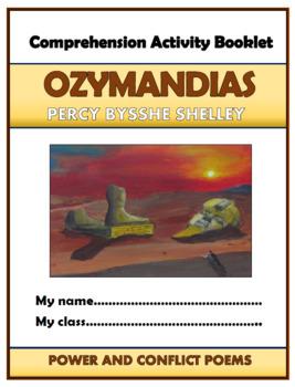 Ozymandias Comprehension Activities Booklet!
