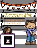 Ozymandias - Interactive poetry notebook