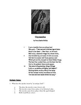 Ozymandias - Literary Text Test Prep