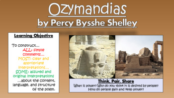 Ozymandias - Percy Bysshe Shelley