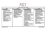 P-6 Visual Art Year Planner