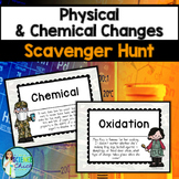 Physical & Chemical Changes Scavenger Hunt