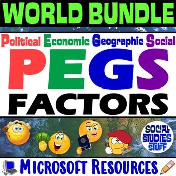 Complete Unit - The PEGS Factors (Political,Economic,Geogr