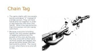 P.E. - 10 Tag Games (FREE)