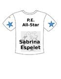 P.E. All-Star Tee Shirt