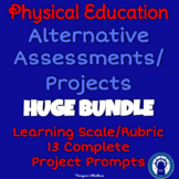 P.E. Alternative Assessments/Projects HUGE Printable Bundle