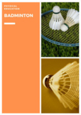P.E. Badminton Units of Work, Lessons, Assessments & Stude
