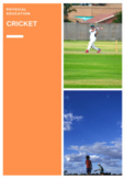 P.E. CRICKET UNITS OF WORK, LESSONS, ASSESSMENTS & STUDENT