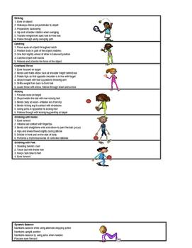 P.E. Core Skills