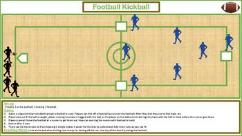 P.E. FOOTBALL KICKBALL