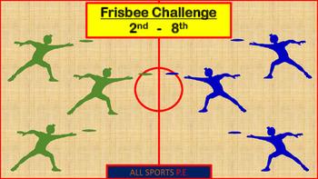 P.E. Frisbee Challenge