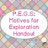 P.E.G.S - Motives for Exploration