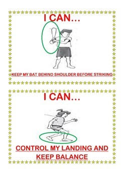 """P.E. """"I Can"""" Posters for K - 2 Fundamental Motor Movements"""